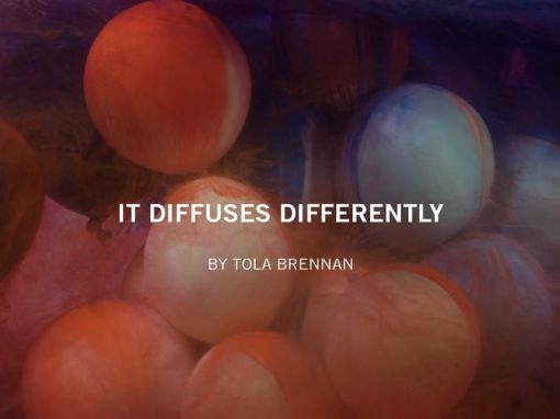It Diffuses Differently