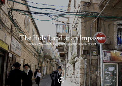 The Holy Land at an Impasse